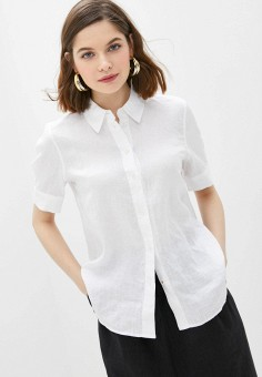 Рубашка, Tommy Hilfiger, цвет: белый. Артикул: TO263EWHJPU7. Одежда / Блузы и рубашки / Рубашки