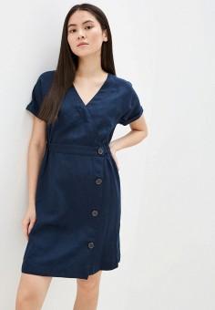 Платье, Tommy Hilfiger, цвет: синий. Артикул: TO263EWHJPW6. Одежда / Платья и сарафаны / Повседневные платья