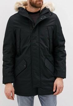 Парка, Tom Tailor Denim, цвет: черный. Артикул: TO793EMGBCW7. Одежда / Верхняя одежда / Парки
