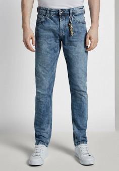 Джинсы, Tom Tailor Denim, цвет: синий. Артикул: TO793EMIAYN8. Одежда / Джинсы / Прямые джинсы