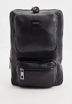 Рюкзак, Trussardi, цвет: черный. Артикул: TR002BMIHNW3. Аксессуары / Рюкзаки