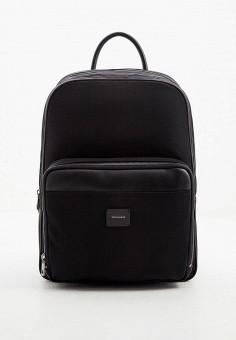 Рюкзак, Trussardi, цвет: черный. Артикул: TR002BMJFZQ9. Аксессуары / Рюкзаки