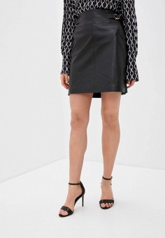 Юбка, Trussardi, цвет: черный. Артикул: TR002EWHKVK4. Одежда / Юбки