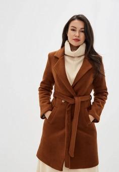 Пальто, TrendyAngel, цвет: коричневый. Артикул: TR015EWHRHR2. Одежда / Верхняя одежда / Пальто / Зимние пальто