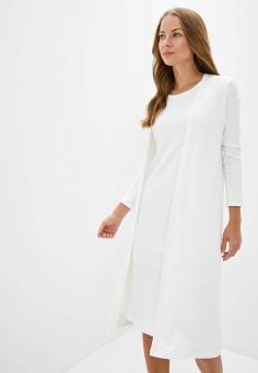 Комплект, TrendyAngel, цвет: белый. Артикул: TR015EWIJYQ2. Одежда / Джемперы, свитеры и кардиганы / Кардиганы