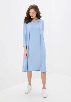 Комплект, TrendyAngel, цвет: голубой. Артикул: TR015EWJEOJ0. Одежда / Платья и сарафаны