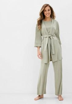 Костюм домашний, TrendyAngel, цвет: зеленый. Артикул: TR015EWKCMQ2. Одежда / Домашняя одежда