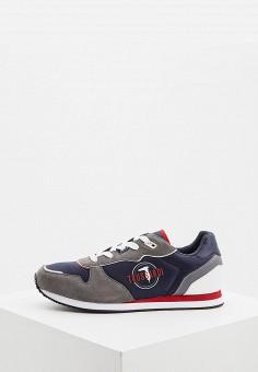 Кроссовки, Trussardi Jeans, цвет: синий. Артикул: TR016AMHSPA1.