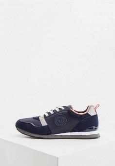 Кроссовки, Trussardi Jeans, цвет: синий. Артикул: TR016AMHSPA4.