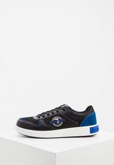 Кеды, Trussardi Jeans, цвет: синий. Артикул: TR016AMHSPA8.