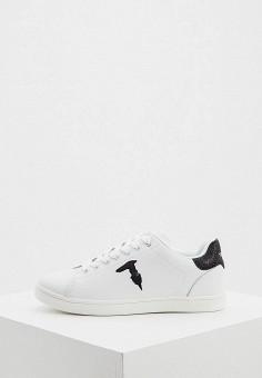 Кеды, Trussardi Jeans, цвет: белый. Артикул: TR016AWHSPD6.