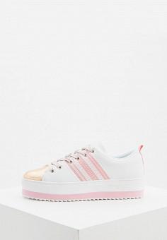 Кеды, Trussardi Jeans, цвет: белый. Артикул: TR016AWHSPG3.