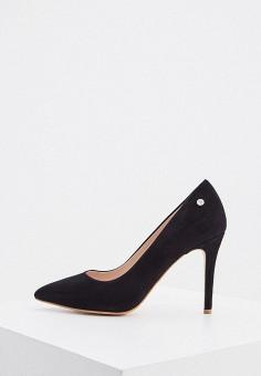 Туфли, Trussardi Jeans, цвет: черный. Артикул: TR016AWIQNO6.