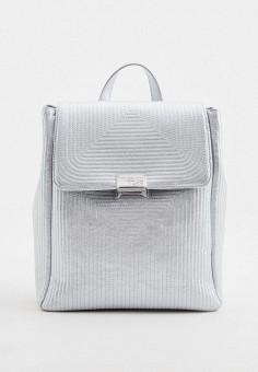 Рюкзак, Trussardi Jeans, цвет: серебряный. Артикул: TR016BWHKTE4.