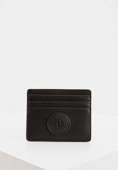 Кредитница, Trussardi Jeans, цвет: черный. Артикул: TR016DMHKUD7. Аксессуары