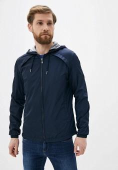 Куртка, Trussardi Jeans, цвет: синий. Артикул: TR016EMHKTQ6.