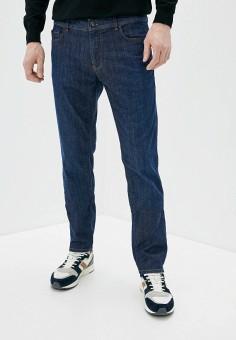 Джинсы, Trussardi Jeans, цвет: синий. Артикул: TR016EMHKUA6. Одежда / Джинсы / Прямые джинсы