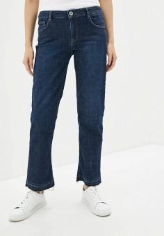 Джинсы, Trussardi Jeans, цвет: синий. Артикул: TR016EWHKUG3.