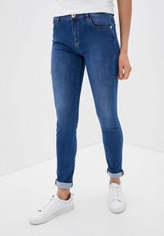 Джинсы, Trussardi Jeans, цвет: синий. Артикул: TR016EWHKUG4.