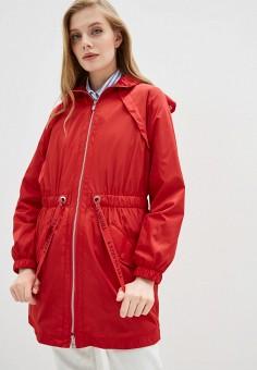Парка, Trussardi Jeans, цвет: красный. Артикул: TR016EWHKUL3.