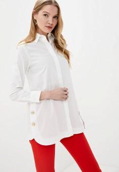 Рубашка, Trussardi Jeans, цвет: белый. Артикул: TR016EWHKUO3.