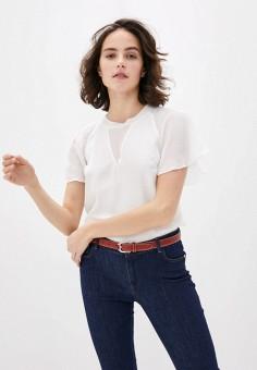 Блуза, Trussardi Jeans, цвет: белый. Артикул: TR016EWHKVI7.