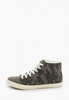 Кеды, Trien, цвет: серый. Артикул: TR025AMHJRW7. Обувь / Кроссовки и кеды / Кеды