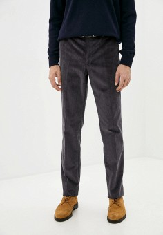 Брюки, Trussardi Collection, цвет: серый. Артикул: TR031EMJVHH1. Одежда / Брюки / Повседневные брюки