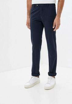 Брюки, Trussardi Collection, цвет: синий. Артикул: TR031EMJVHK6. Одежда / Брюки / Повседневные брюки
