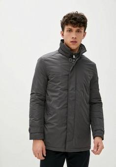 Куртка утепленная, Trussardi Collection, цвет: хаки. Артикул: TR031EMKBUR8. Одежда / Верхняя одежда / Демисезонные куртки