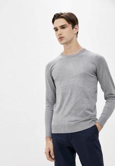 Джемпер, Trussardi Collection, цвет: серый. Артикул: TR031EMKBVB3. Одежда / Джемперы, свитеры и кардиганы / Джемперы и пуловеры