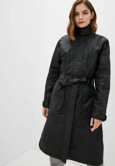 Плащ, Trailhead, цвет: черный. Артикул: TR428EWKALB3. Одежда / Верхняя одежда / Плащи и тренчи