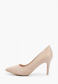 Туфли, Tulipano, цвет: бежевый. Артикул: TU005AWIEPW8. Обувь / Туфли