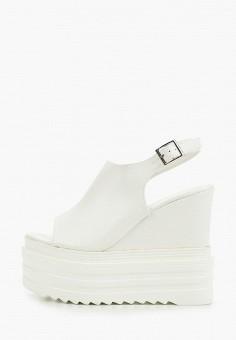 Босоножки, Tulipano, цвет: белый. Артикул: TU005AWIPOV1. Обувь / Босоножки