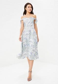 Платье, Tutto Bene, цвет: белый. Артикул: TU009EWATTX3.