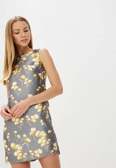 Платье, Tutto Bene, цвет: серый. Артикул: TU009EWBHDF0.