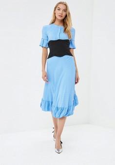 Платье, Tutto Bene, цвет: голубой. Артикул: TU009EWBLIG5.
