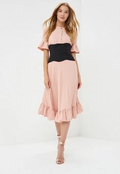 Платье, Tutto Bene, цвет: розовый. Артикул: TU009EWBLIG6.