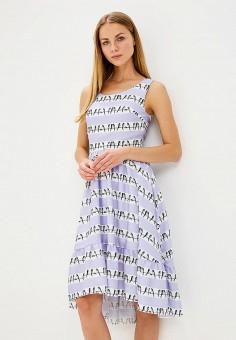 Платье, Tutto Bene, цвет: фиолетовый. Артикул: TU009EWBLIL8.