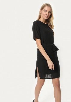 Платье, Tutto Bene, цвет: черный. Артикул: TU009EWBPQQ8.