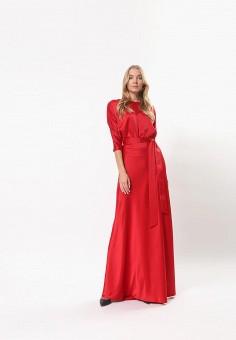 Платье, Tutto Bene, цвет: красный. Артикул: TU009EWDJFV1.