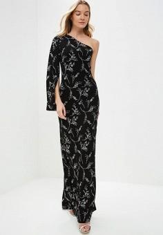 Платье, Tutto Bene, цвет: черный. Артикул: TU009EWDNKP3.