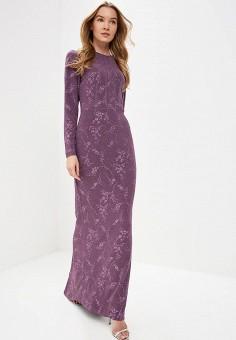 Платье, Tutto Bene, цвет: фиолетовый. Артикул: TU009EWDNKQ6.