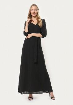 Платье, Tutto Bene, цвет: черный. Артикул: TU009EWDNQE5.