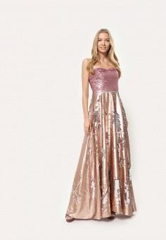 Платье, Tutto Bene, цвет: розовый. Артикул: TU009EWDNQS6.