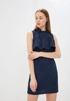 Платье, Tutto Bene, цвет: синий. Артикул: TU009EWEPXJ7.