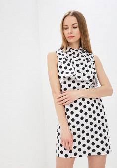 Платье, Tutto Bene, цвет: белый. Артикул: TU009EWEPXJ9.