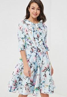Платье, Tutto Bene, цвет: голубой. Артикул: TU009EWEUFR5.