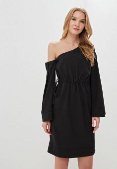 Платье, Tutto Bene, цвет: черный. Артикул: TU009EWEXNM0.