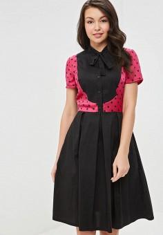 Платье, Tutto Bene, цвет: черный. Артикул: TU009EWEXNU3.